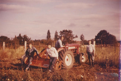 four guys and a tractor